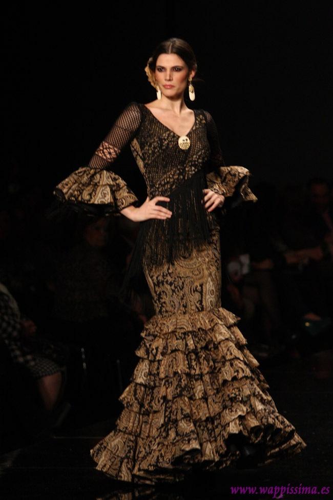 Flecos from the waist... Flamenco Fashion by Loli Vera, 2013