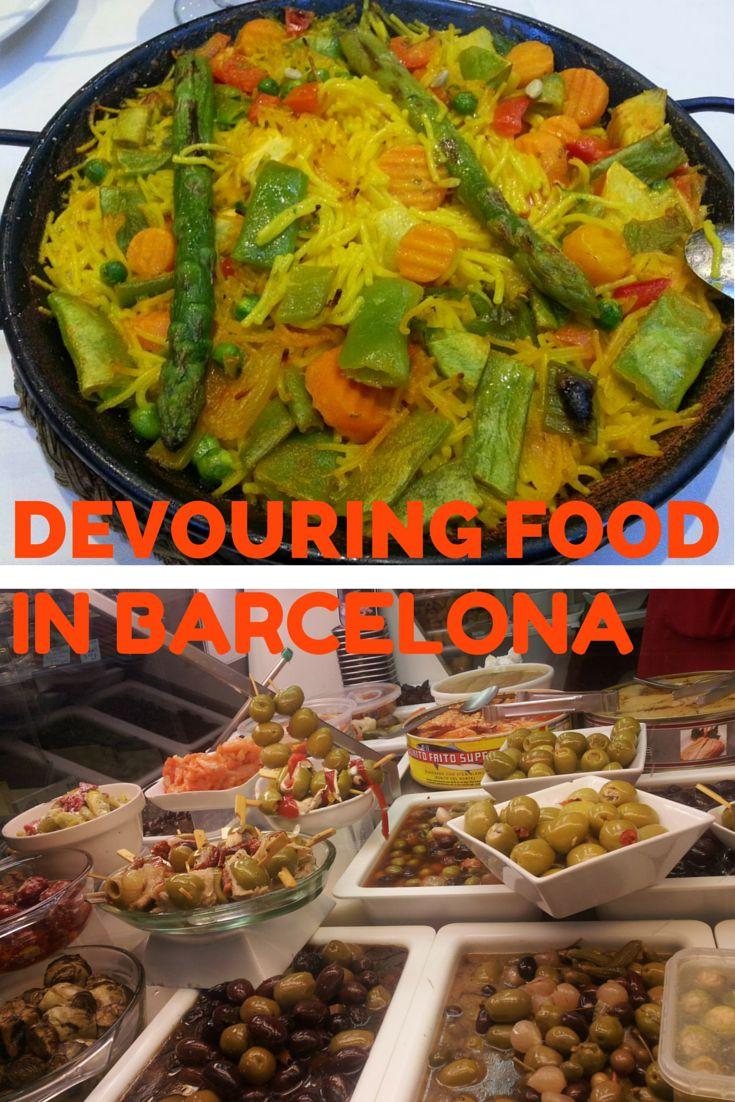 Exploring vegetarian food options in Barcelona,Spain