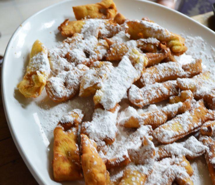 Kruschiki Polish Bow Tie Cookies Polish Food Pinterest