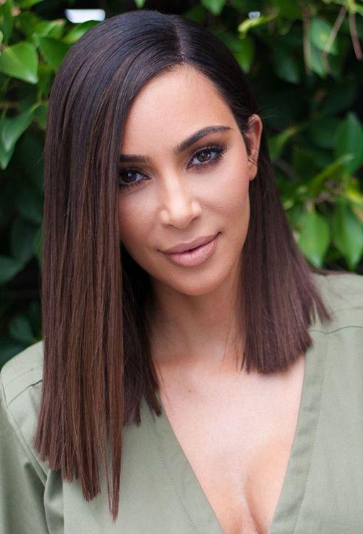 Fake bob wig of Kim Kardashian