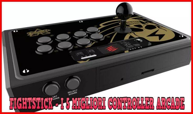 Fightstick – I 5 migliori Joystick Arcade per giochi di Combattimento