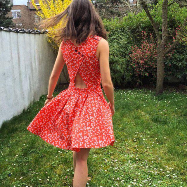 Robe Emma de La Maison Victor / coudre une robe / diy sewing