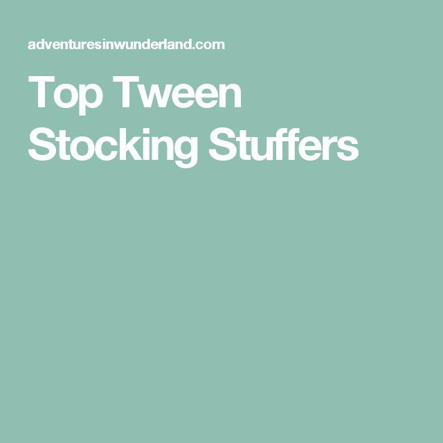 Top Tween Stocking Stuffers