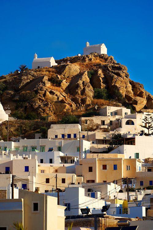 The Hill city of Chora, Ios, Greece, Cyclades Island  https://www.liostasi.gr/