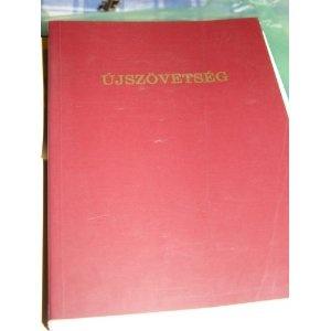 Ujszovetseg Hungarian New Testament  $39.99