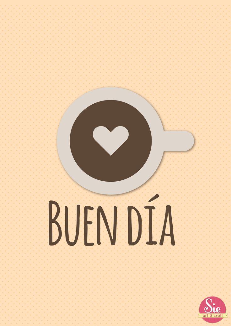 Buenos dias!!❤
