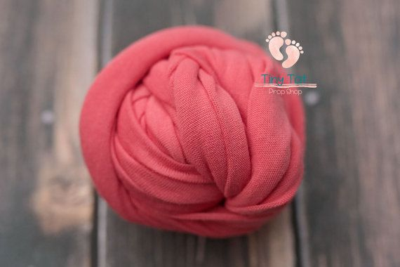 Coral Jersey Knit Wrap,Newborn Wrap,Jersey Knit,Photo Prop,Baby Wrap,Photography Prop,Stretch Knit Wrap,Stretch Wrap,Jersey Wrap,Newborn