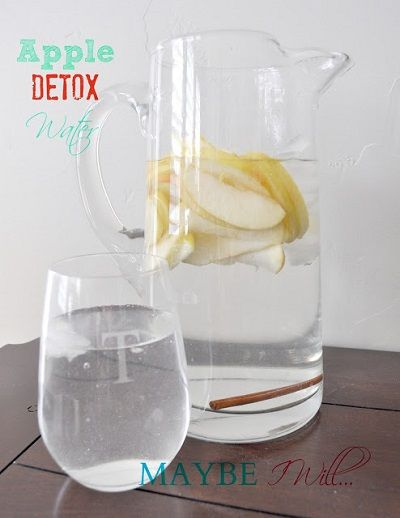 How to Make an Apple Detox Water