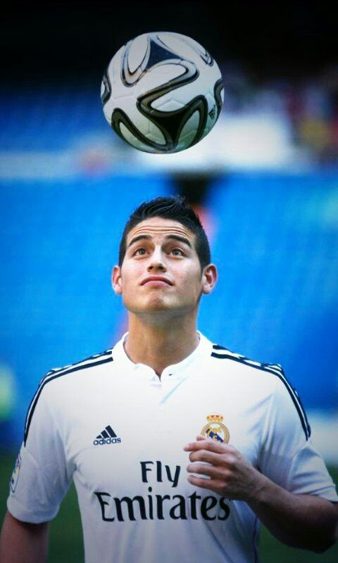 James Rodriguez is cute