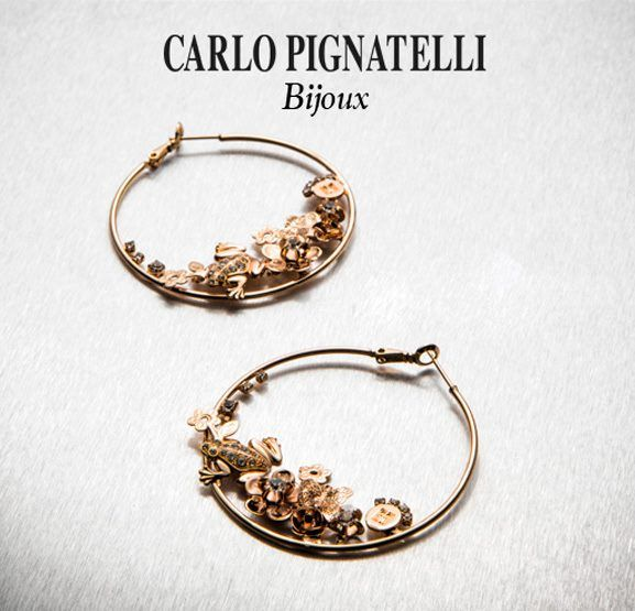 Carlo Pignatelli Bijoux - shop on line at www.carlopignatel... #bijoux #earrings #jewels #accessories