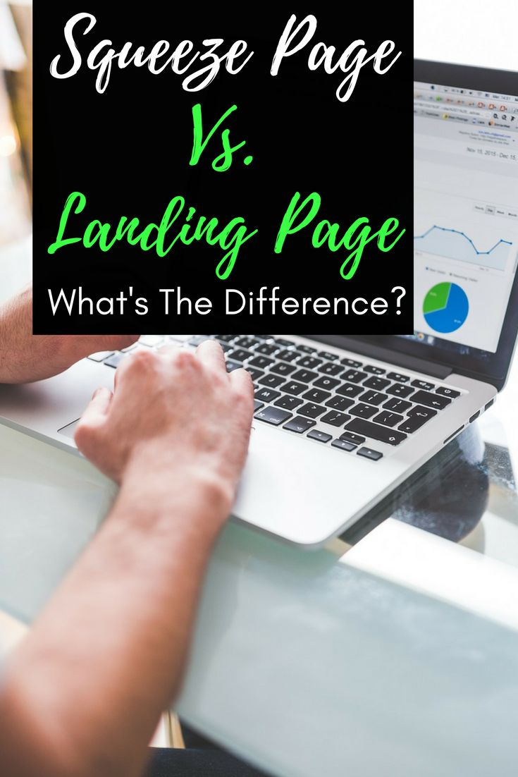 Finally find out the difference between a landing page and a squeeze page.  squeeze page |squeeze page templates |squeeze page design |squeeze page design website