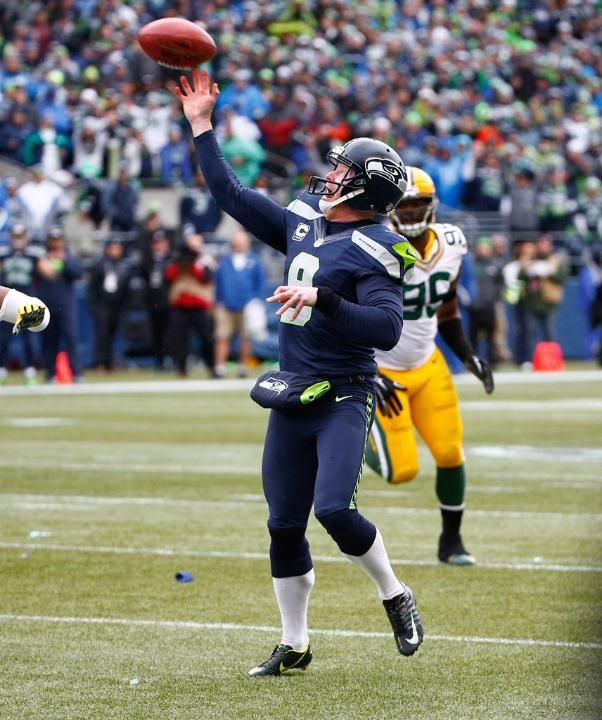 Photo Gallery - Seahawks vs Packers First punter to throw a TD in the NFL Playoffs!