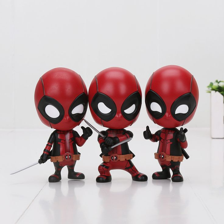 Deadpool funny figures //Price: $12.00 & FREE Shipping //     #superheroez #superheroes #marvel #dccomics