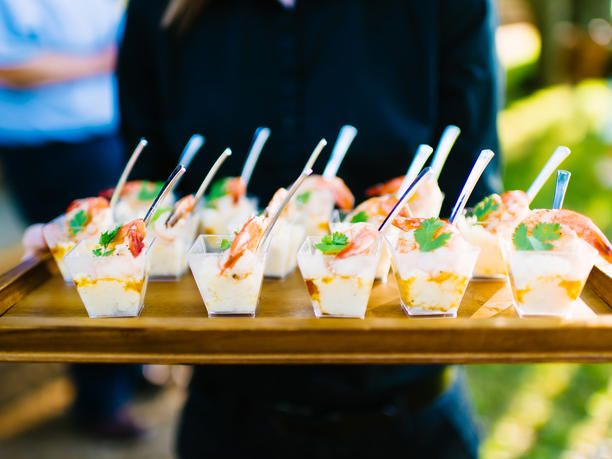 6 Seafood Menu Ideas For Beach Weddings | Photo by: Al Gawlik Photography | TheKnot.com