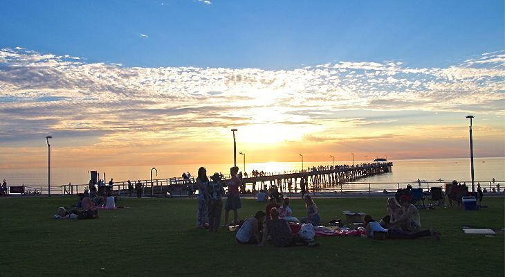 Henley Beach in Adelaide, Australia - Travel tips: http://www.ytravelblog.com/things-to-do-in-adelaide/