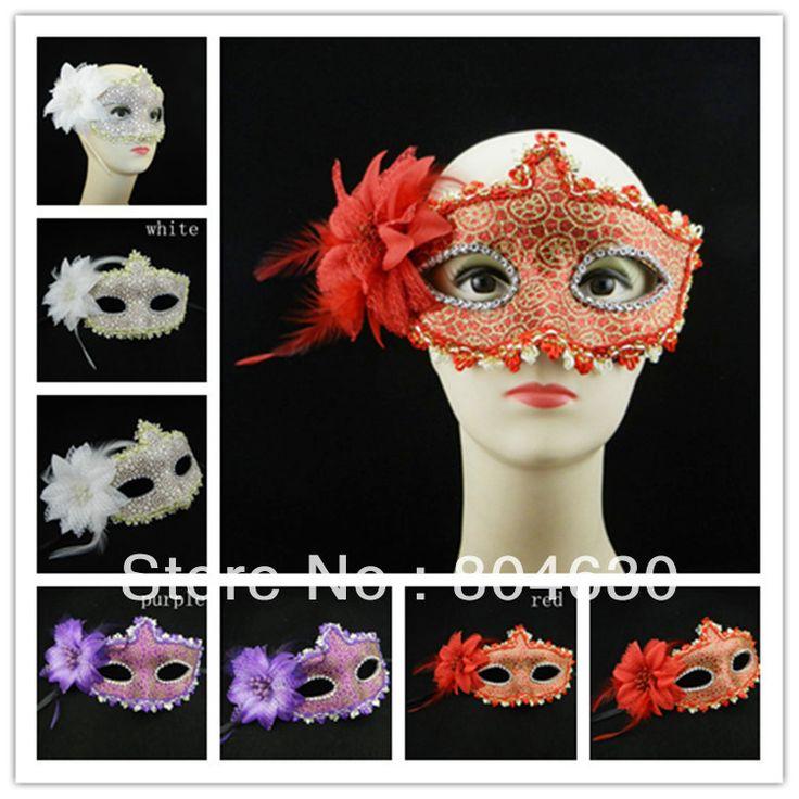 Золотое покрытие цветок маска причудливые маски для бал-маскарад хэллоуин украшения Партия маска 100 шт./лот бесплатная доставка EMS