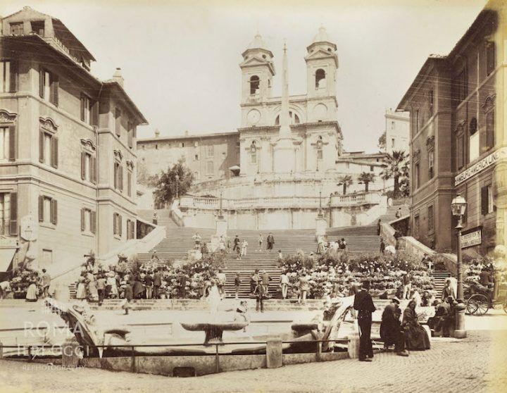 Trinità dei Monti (1900 ca)