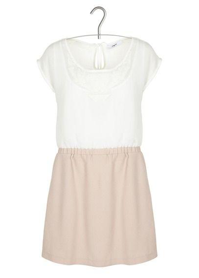 E-shop Suncoo - Robe Combinée Bimatière Blanc Suncoo pour femme sur Place des tendances Groupe Printemps. Retrouvez toute la collection Suncoo pour femme.