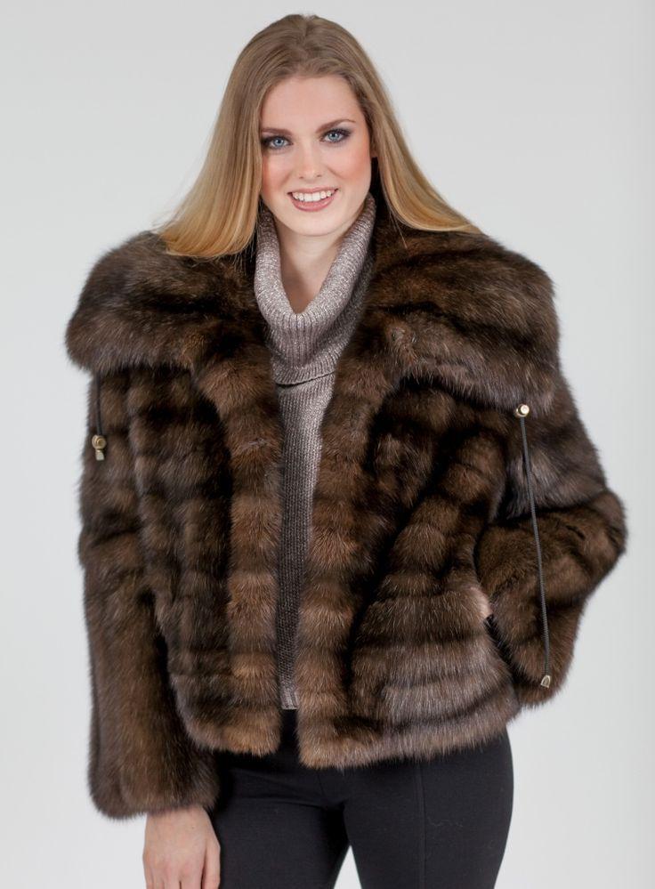 Mink jacket for women