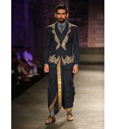 Manish Malhotra wedding menswear | dhoti suit |