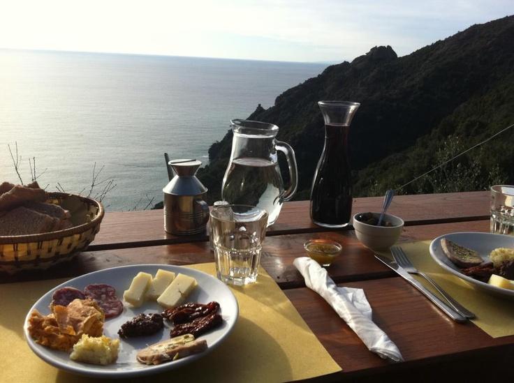 Agririfugio Molini Agririfugio Molini: nel cuore del Parco di Portofino, l'agriturismo si raggiunge solo a piedi, percorrendo un sentiero millenario che attraversa terrazzamenti di ulivi e boschi di leccio www.ilgiardinodelborgo.it #blogtourportofino