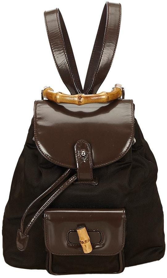 e02305e56b1 Bamboo cloth backpack  fashion  pandafashion  backpack  gucci