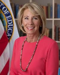 United States Secretary of Education - Betsy Devos