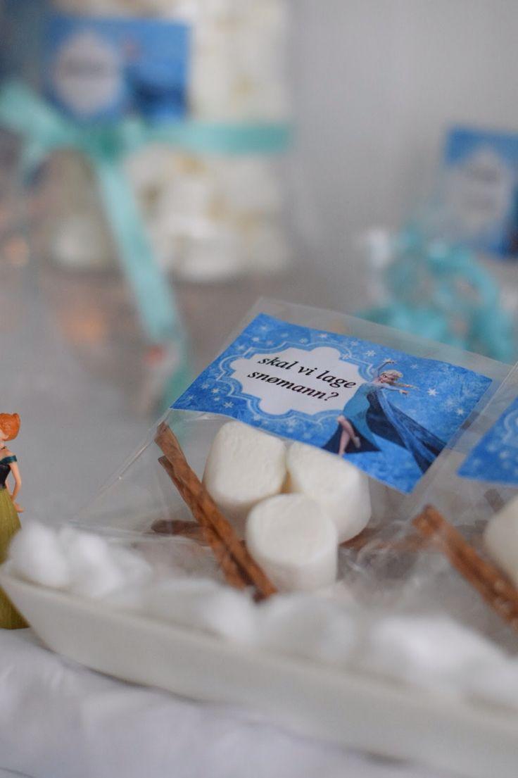Snowman kit Olaf frozen party