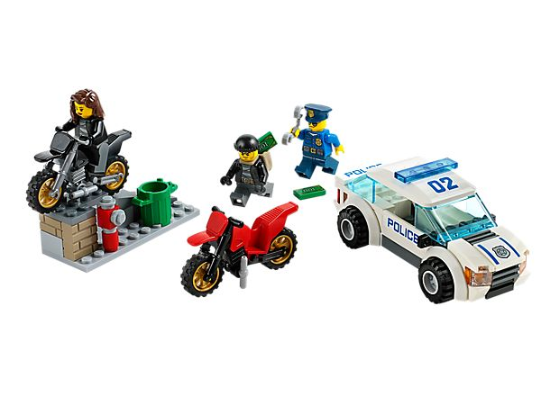 Start a High Speed Police Chase and catch the crooks on their motorbikes! $19.99