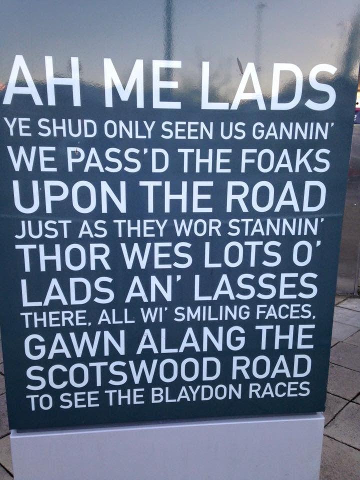 The Geordie National Anthem - The Blaydon Races.