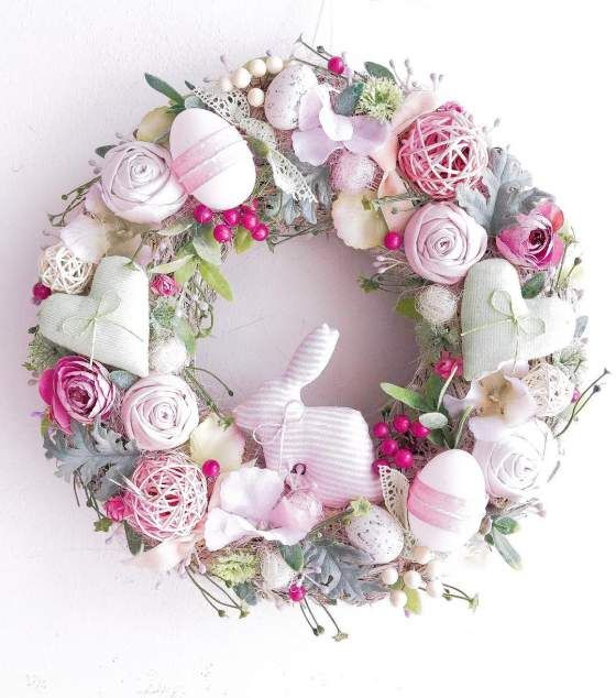 60 Simple DIY Easter Wreaths & Door Decorations You would be Itching to Attempt Proper Now