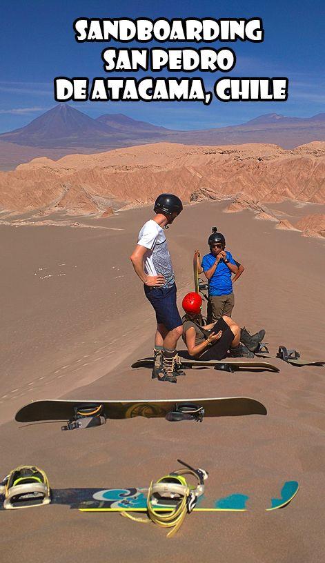 Sandboarding San Pedro de Atacama, Chile