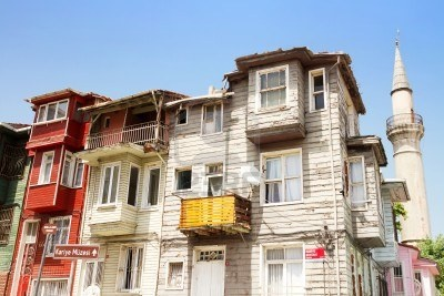 An Old Wooden Istanbul House, Kariye, Fatih Royalty Free Stock Photo, Pictures, Images And Stock Photography. Image 9801239.