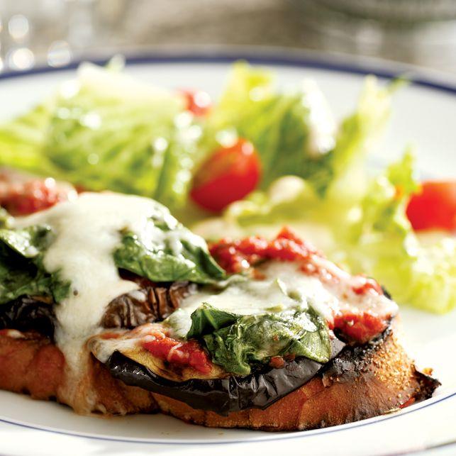 Grilled Eggplant Parmesan Sandwich | Favorite Recipes | Pinterest