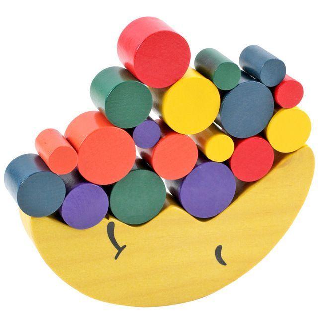 La Educacion Montessori Bloques De Madera Juegos Interactivos