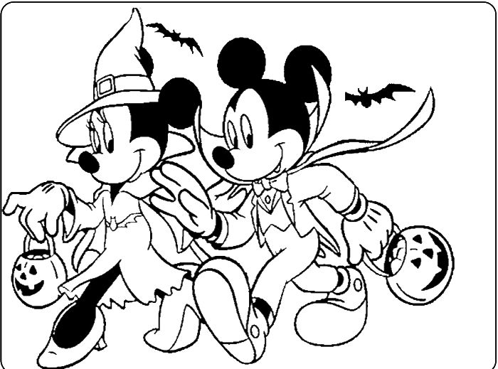 93 best 2 Color * Disney Halloween images on Pinterest | Colouring ...