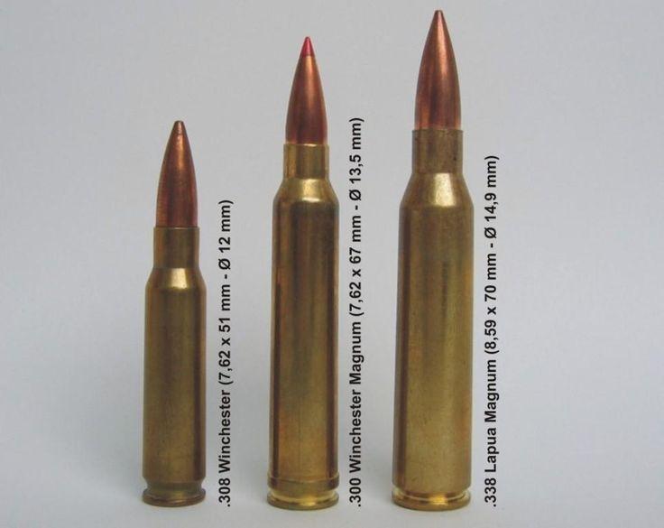 Big 3 Rifle Cartridges