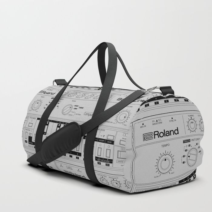 Buy Roland TB-303 Bass Line Wireframe Duffle Bag by sitchko. Worldwide shipping available at Society6.com. Just one of millions of high quality products available.