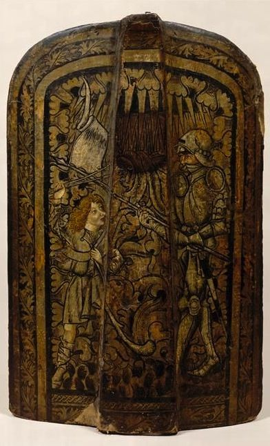 Bohemian Pavise (Musée National du Moyen Âge, Paris, Cl.2381)