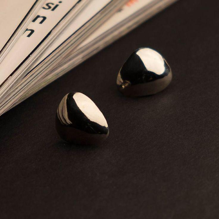 Aurora stud earrings. Great addition to your everyday style  #earrings #studearrings #silver #tappikorvakorut #korvakorut