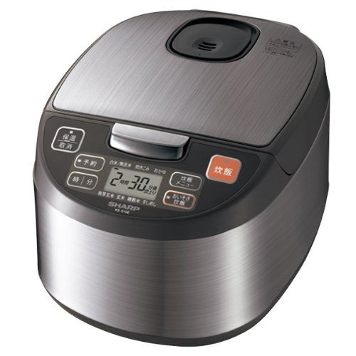 SHARP Rice Cooker 1L type KSS10ES Japan Import -- Click image to review more details.