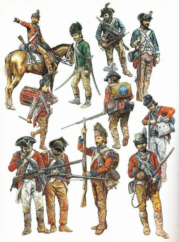 an overview of the american revolutionary war and the comparison of soldiers strength What were america's military strengths and weaknesses upon entering the revolutionary war.