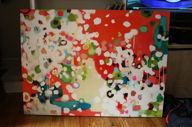 Kristen F. Davis Designs: Canvas Painting: Cool Paintings, Paintings On Canvas, Canvas Paintings, Art Inspiration, Diy Canvas, Art Ideas, Davis Design, Acrylics Paintings, Abstract Paintings