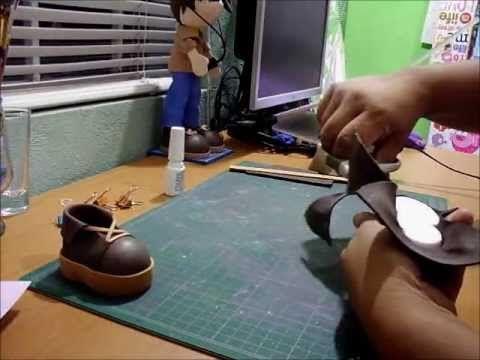 zapatos para fofuchas - YouTube