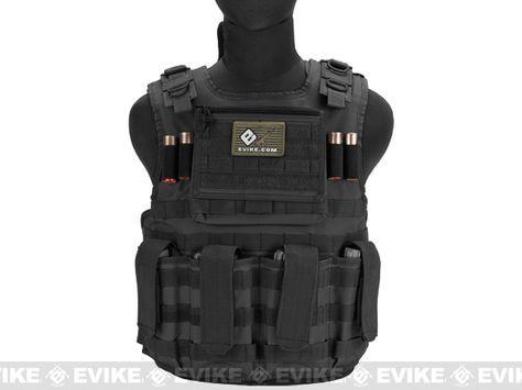 Matrix Tactical Systems Light Duo Strap Tactical Field Vest - Black, Tactical Gear/Apparel, Body Armor & Vests, Black - Evike.com Airsoft Superstore