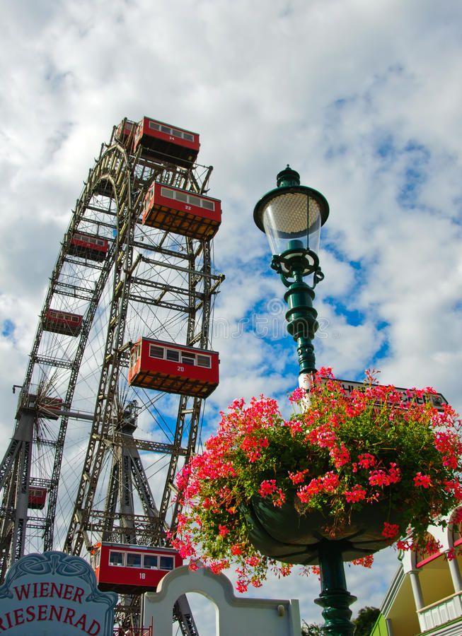 Wiener Riesenrad (Vienna Giant Ferris Wheel) Royalty Free Stock Images - Image: 16677599