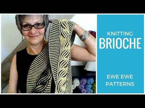 Brioche Knitting Projects - YouTube