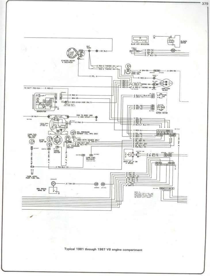 73 87 Chevy Truck Instrument Cluster Wiring : chevy, truck, instrument, cluster, wiring, Chevy, Truck, Wiring, Diagram, Truck,, Trucks,