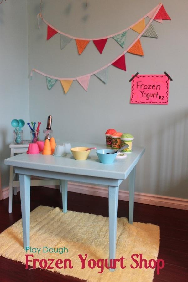Play Dough Frozen Yogurt Shop | Mama.Papa.Bubba.