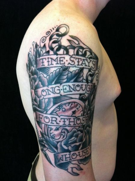 54 Best Forearm Tattoos For Men Quotes Design Symbols